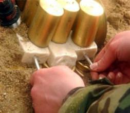 125 kg patlayıcı madde ele geçirildi