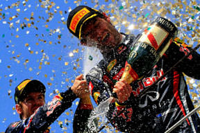 F1'de kapanış Webber'den!