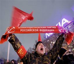 Putin'siz Rusya için slogan attılar