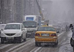 492 köy yolu ulaşıma kapandı
