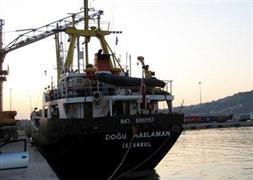 İzmirde gemi battı! 2 ölü