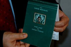 Yeşil kartlılar fakir çıktı