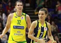TKBL'de Fenerbahçe liderliğini sürdürdü