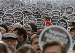 Binlerce kişi Hrant Dink için yürüdü