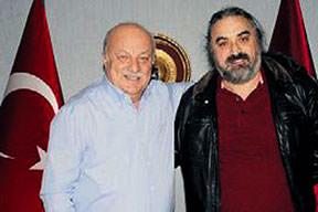 Volkan Konaktan Trabzonspor'a sürpriz ziyaret