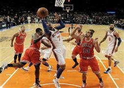 Bulls, Knicks'i deplasmanda yendi: 105-102