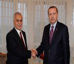 Başbakan, Tarık Haşimi ile görüştü!