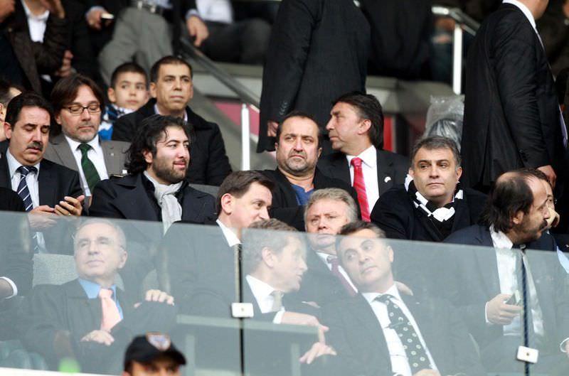 Başkanlar maçı birlikte izledi