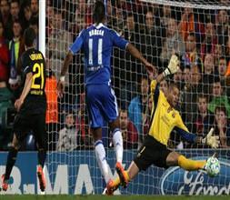Chelsea Barça'yı tek golle yıktı!