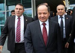 Mesud Barzani Türkiye'de