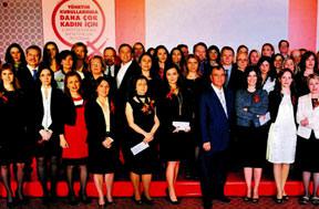 İş dünyasının liderleri kadınlar için bir arada