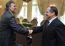Gül, Barzani'yi kabul etti