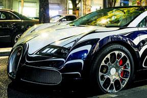 Porselen Bugatti Paris'te