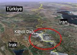 İran ve Türkiye Kandil'i bombaladı iddiası