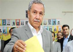 Arınç AK Parti'nin son oy oranını açıkladı