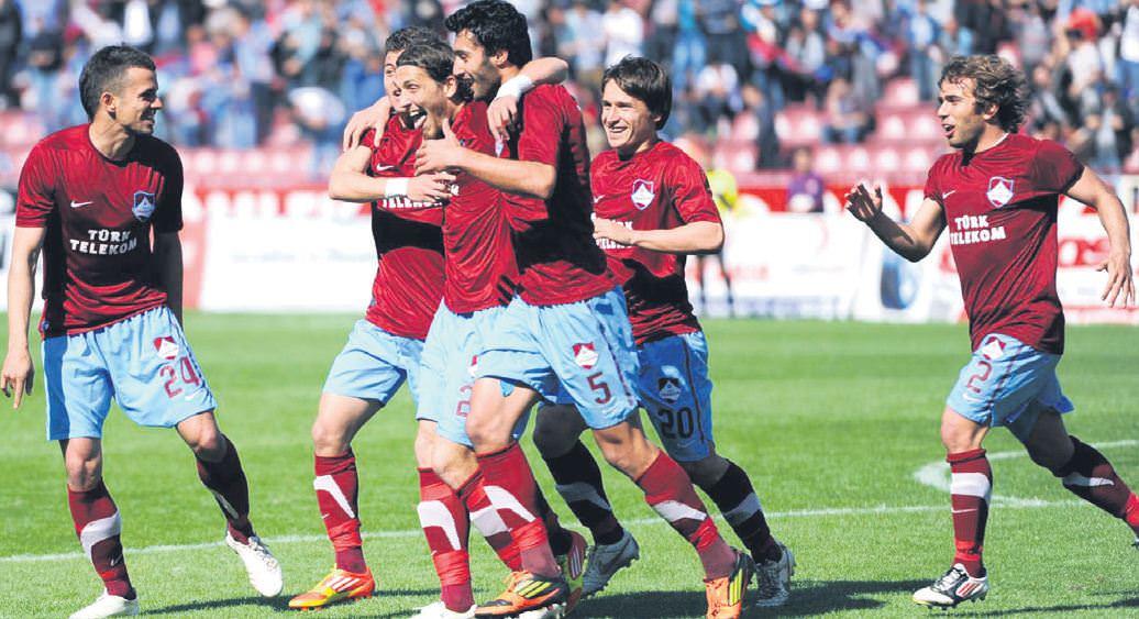 Ve zirve Trabzon'un!