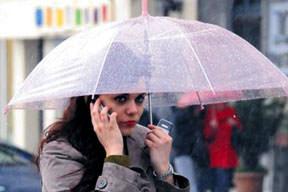 Şemsiyelik uyarı