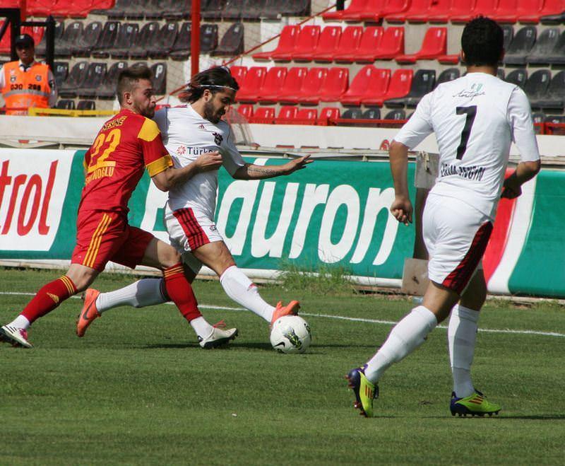 Gaziantep'ten 3 gol 3 puan!