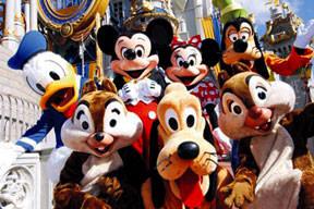 Mickey ve arkadaşları grevde