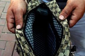 Hırsıza karşı alarmlı çanta