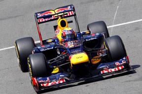 İlk cep Mark Webber'in