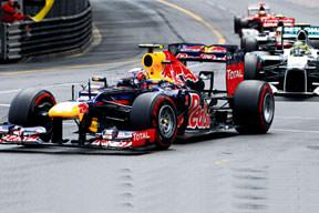 Monaco'nun kralı Webber