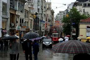 İstanbul'da yağış paniği
