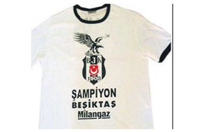 Zafer tişörtü satışa çıkarıldı