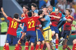 İspanya Çakır keyfi