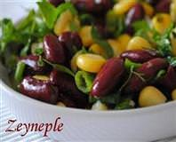 Mısırlı Meksika Fasülyeli Salata