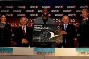 Kobe ile Messi'yi THY buluşturdu