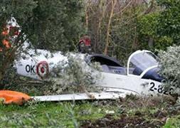 İzmir'de uçak düştü