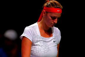 Kvitova şok etti