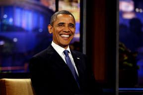 Obama güldü