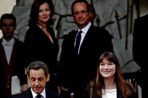 Sarkozy'e eş darbesi