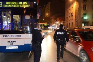 Ankara'da belediye otobüslerine saldırı