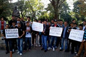 Q7 protestosu