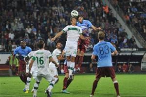 Bursa'nın ilk Trabzon galibiyeti