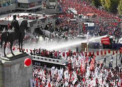 Ankara yürüyüşüne soruşturma