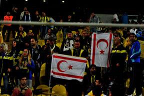 UEFA'ya KKTC bayrağı tepkisi