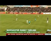 Nazilli Belediyespor: 0 - Bursaspor: 3 (Özet)