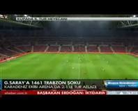 Galatasaray: 1 - 1461 Trabzon: 2  ( Özet)