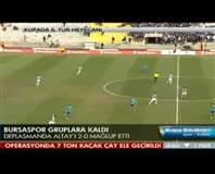 Altay: 0 - Bursaspor: 2 (Özet)