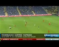 Fenerbahçe: 4 - Göztepe: 0 (Özet)