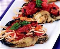 Patlıcanlı Makarna Sarma