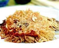 Porçini Mantarlı Spagetti