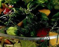 Meyveli Yeşil Salatası