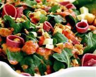 Jambonlu Tere Salatası
