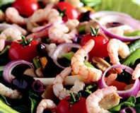 Rokalı Karides Salatası