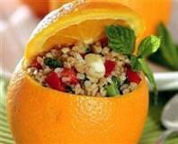Portakallı Esmer Bulgur Salatası